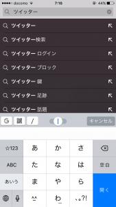 5.opera miniの検索画面